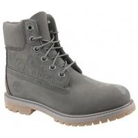 Zapatos Mujer Botas de caña baja Timberland 6 In Premium Boot W gris