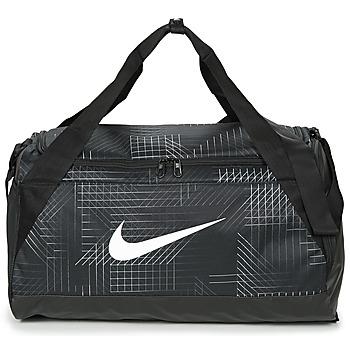 Bolsos Mochila de deporte Nike BRASILIA SMALL Negro / Blanco