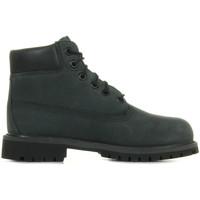 Zapatos Niños Botas de caña baja Timberland 6 In Premium Wp Gris