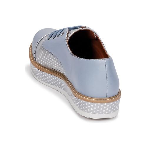 Filipy Zapatos Azul Derbie Cristofoli Mujer FKT31J5luc