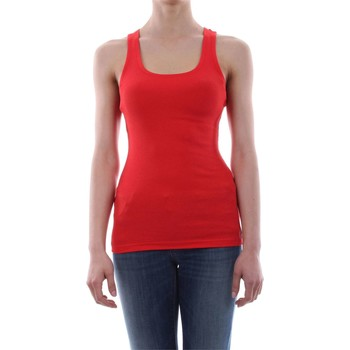 textil Mujer Tops / Blusas Silvian Heach LUCIANUS T-SHIRT Mujer Rosso Rosso