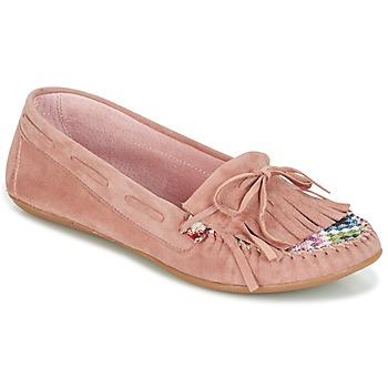 Zapatos Mujer Mocasín Ippon Vintage MOC-WAX-ROSE Rosa