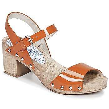 Zapatos Mujer Sandalias Ippon Vintage SOK COLORS Naranja