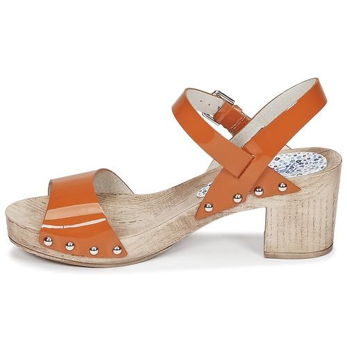 Sandalias Naranja Sok Ippon Vintage Mujer Colors Zapatos SGzMqUVp
