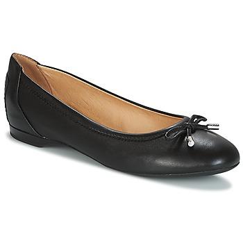 Zapatos Mujer Bailarinas-manoletinas Geox LAMULAY Negro