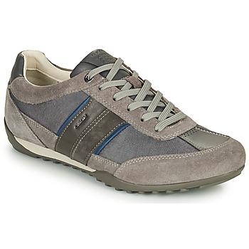Zapatos Hombre Zapatillas bajas Geox U WELLS C Gris