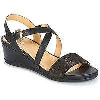 Zapatos Mujer Sandalias Geox MARYKARMEN A Negro