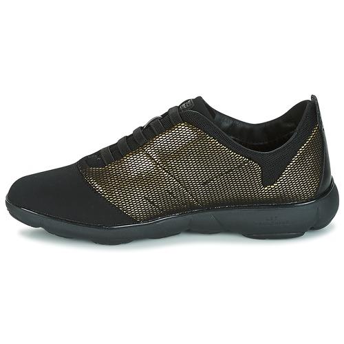 OroNegro Zapatillas Bajas Mujer C D Geox Zapatos Nebula SpqUzVMG