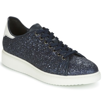 Zapatos Mujer Zapatillas bajas Geox D THYMAR C Azul / Blanco