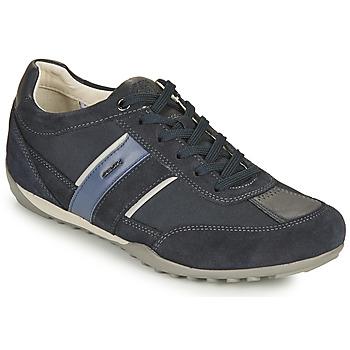 Zapatos Hombre Zapatillas bajas Geox U WELLS C Azul