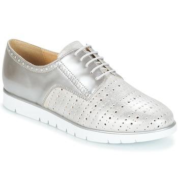 Zapatos Mujer Derbie Geox KOOKEAN Plata