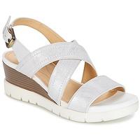 Zapatos Mujer Sandalias Geox MARYKARMEN P.B Blanco