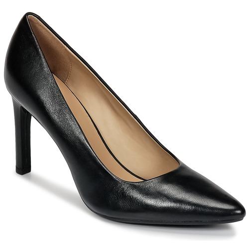 Casual salvaje Zapatos especiales Geox FAVIOLA C Negro