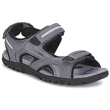 Zapatos Hombre Sandalias de deporte Geox S.STRADA D Gris