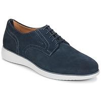 Zapatos Hombre Derbie Geox WINFRED A Marino