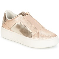 Zapatos Mujer Zapatillas bajas Geox NHENBUS Rosa / Gold