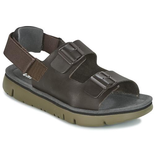 Zapatos especiales para hombres y mujeres Camper ORUGA SANDAL Marrón