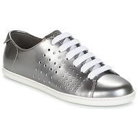 Zapatos Mujer Derbie Camper TWS Plateado