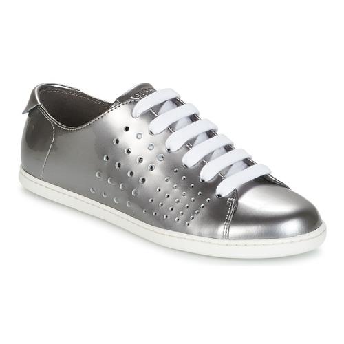 Zapatos Mujer Plateado Tws Camper Derbie rdECWQxBoe