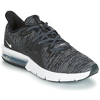 Zapatos Niño Zapatillas bajas Nike AIR MAX SEQUENT 3 GROUNDSCHOOL Gris / Negro