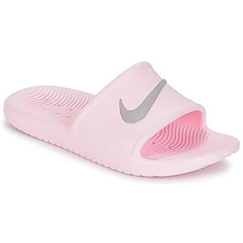 Zapatos Mujer Chanclas Nike KAWA SHOWER SANDAL W Rosa / Gris