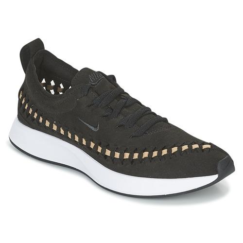 on sale 834bd a35e6 Zapatos Mujer Zapatillas bajas Nike DUALTONE RACER WOVEN W Negro