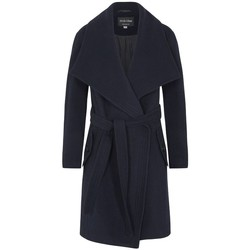 textil Mujer Abrigos De La Creme Abrigo de abrigo de cachemir de lana de invierno Blue