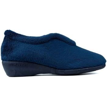 Zapatos Mujer Pantuflas Vulladi CASA  ALASKA AZUL