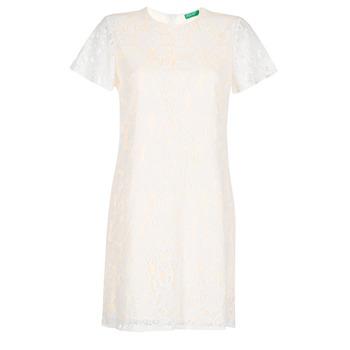 textil Mujer vestidos cortos Benetton PRISTOUC Azul