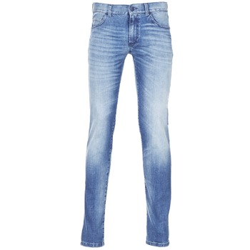 textil Hombre vaqueros slim Sisley BURLUDU Azul / Medium