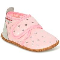 Zapatos Niña Pantuflas Giesswein SALSACH Rosa