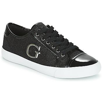 Zapatos Mujer Zapatillas bajas Guess ELLY Negro