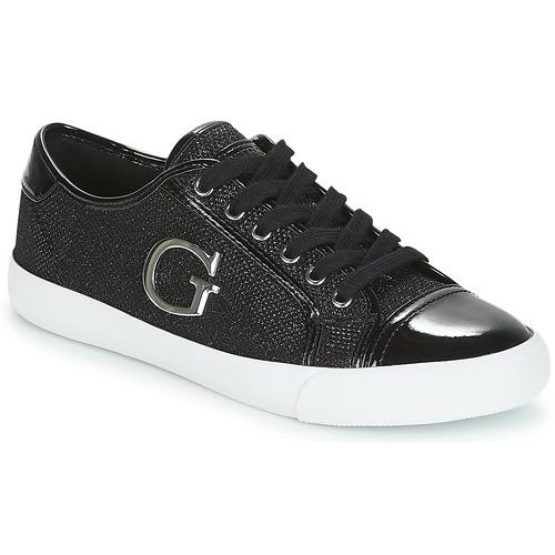 Zapatos promocionales Guess ELLY Negro  Gran descuento