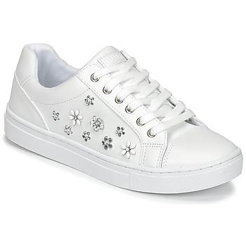 Zapatos Mujer Zapatillas bajas Guess JAMIT Blanco