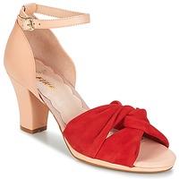 Zapatos Mujer Sandalias Miss L'Fire EVIE Rojo / Rosa