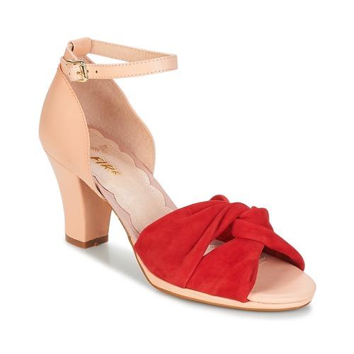 Los zapatos más populares para hombres y mujeres Zapatos especiales Miss L'Fire EVIE Rojo / Rosa