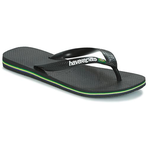 Havaianas BRAZIL LOGO Negro - Envío gratis | ! - Zapatos Chanclas
