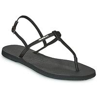 Zapatos Mujer Sandalias Havaianas YOU RIVIERA Negro