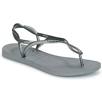 Zapatos Mujer Chanclas Havaianas LUNA Plata