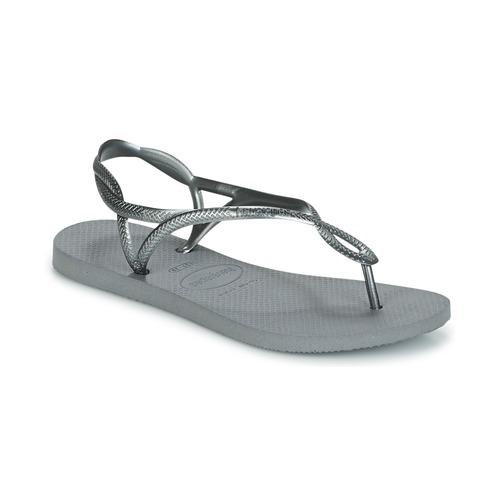 Havaianas LUNA Plata - Envío gratis | ! - Zapatos Chanclas Mujer