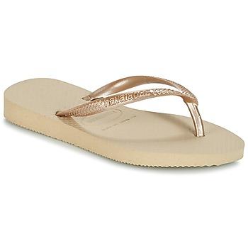 Zapatos Niña Chanclas Havaianas SLIM Beige