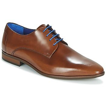Zapatos Hombre Derbie Azzaro VALMI Cognac