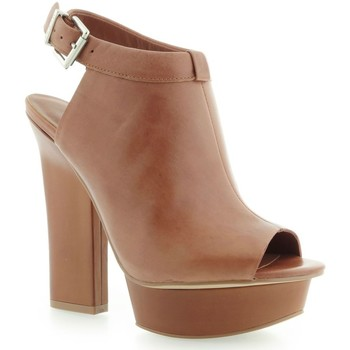 Zapatos Mujer Botines Guess Junita Spuntato Open Toe Leather