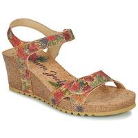 Zapatos Mujer Sandalias Panama Jack JULIA Rojo