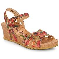 Zapatos Mujer Sandalias Panama Jack VERA Rojo