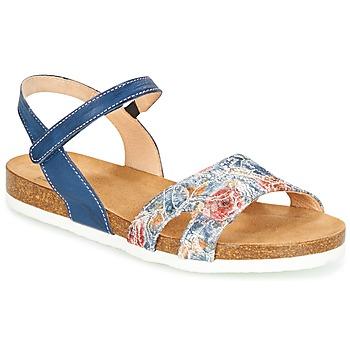 Zapatos Mujer Sandalias Think ZIFUDEKE Azul