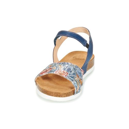 Casual salvaje Zapatos especiales Think ZIFUDEKE Azul