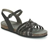 Zapatos Mujer Sandalias Think CLARA Negro