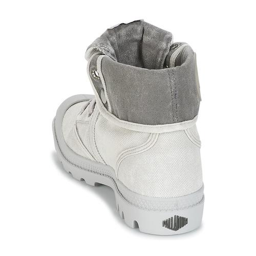 Baja Mujer Caña Baggy Palladium Us Zapatos De GrisMetal Botas W9eDHYbIE2