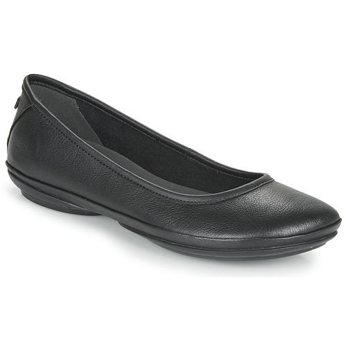 manoletinas Camper Zapatos Bailarinas Mujer Nina Negro Right KJ1uTlF35c